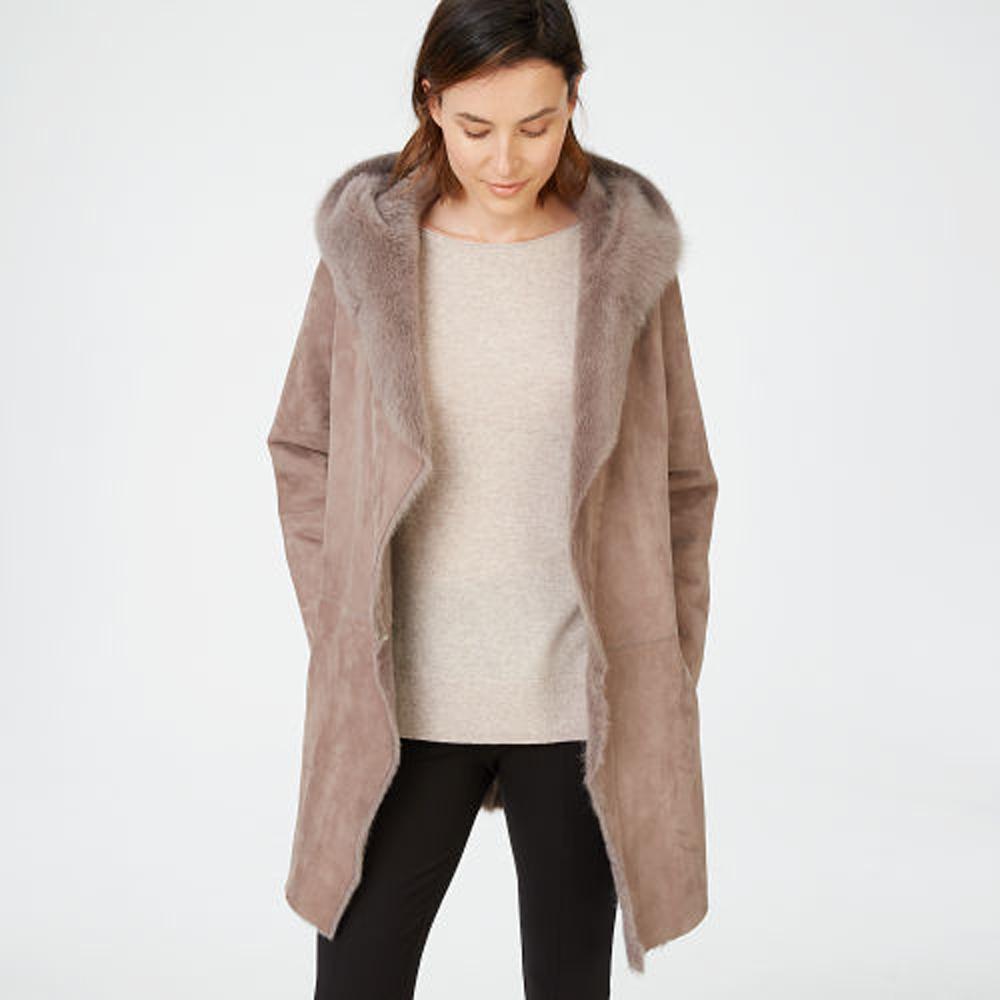 Kamile Shearling Coat   HK$19,990