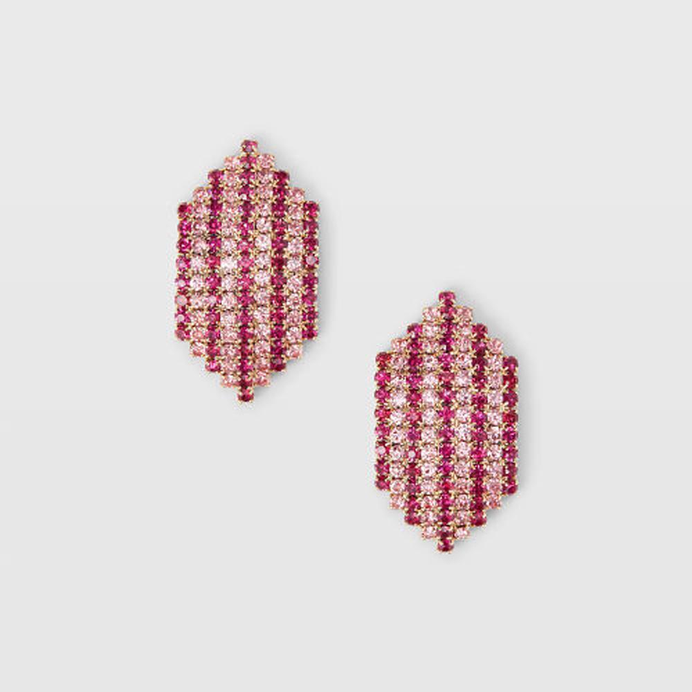 Crystal Stripe Earring   HK$590