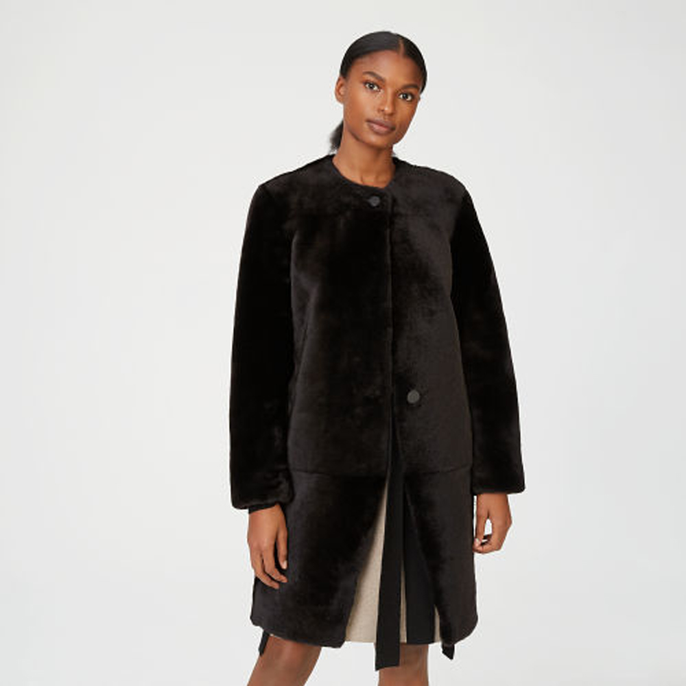 Mercee Shearling Coat   HK$17,990