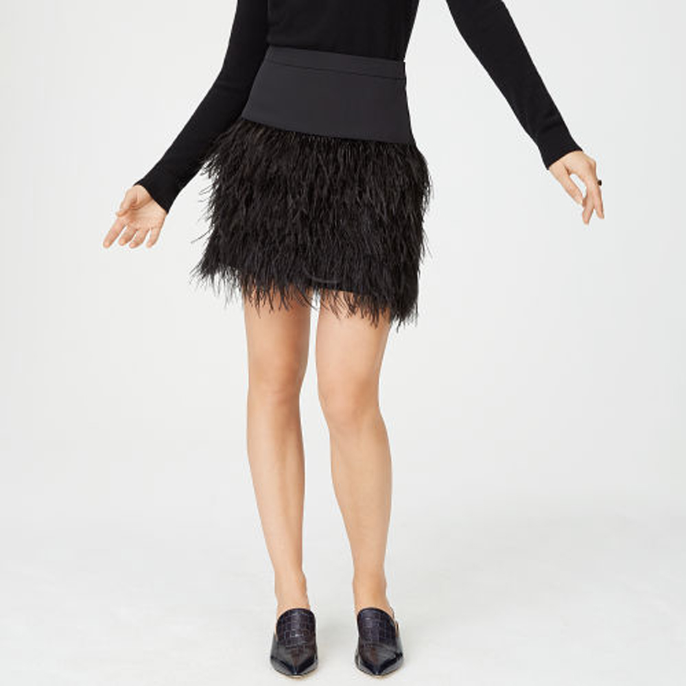 Bernee Feather Skirt   HK$2,690