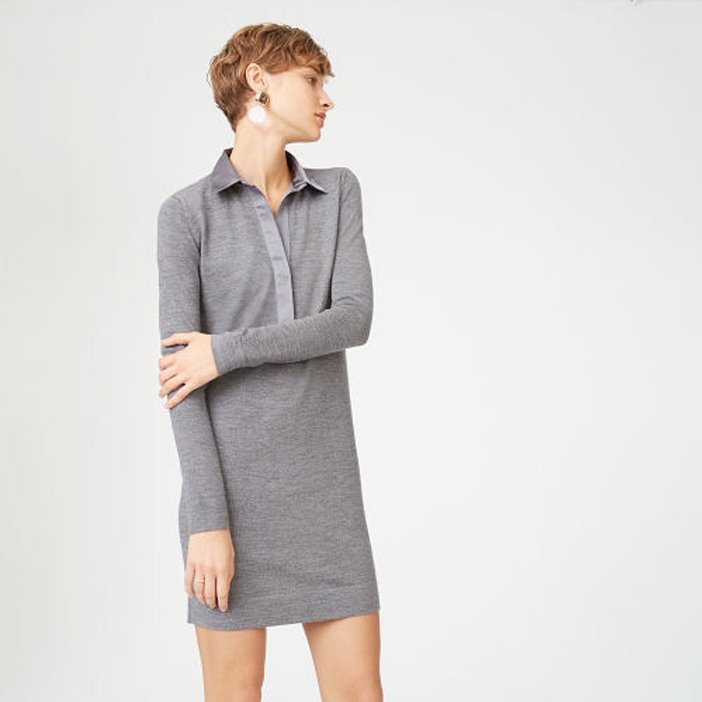 Sabrae Sweater Dress   HK$1,990