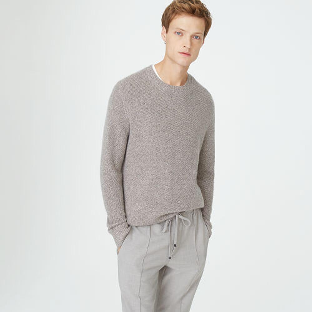 Cashmere Twill Crew Sweater   HK$3,290