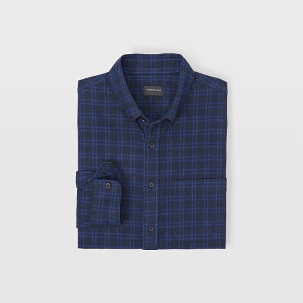 Slim Plaid Jaspé Shirt   HK$1,090