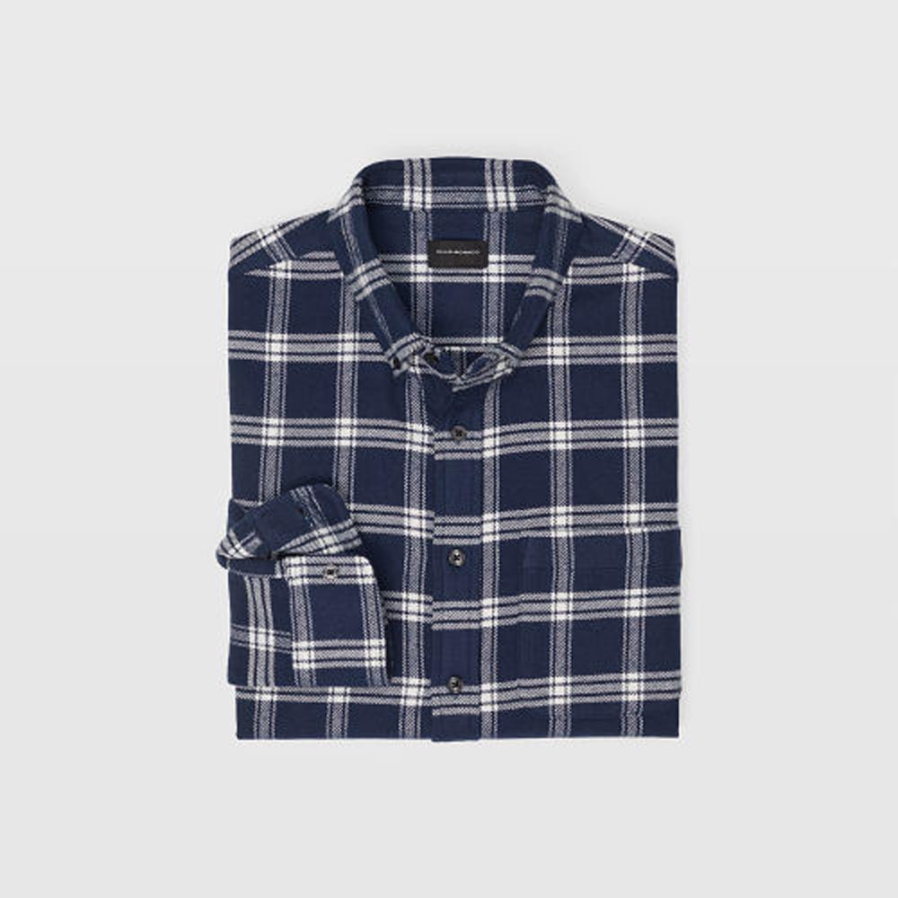 Slim Fall Plaid Flannel Shirt   was HK$1,290   now HK$903