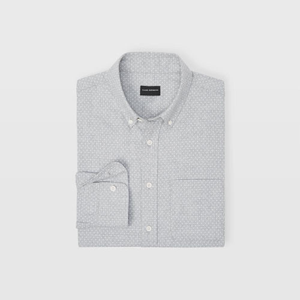 Slim Polka Dot Flannel Shirt   HK$1,090