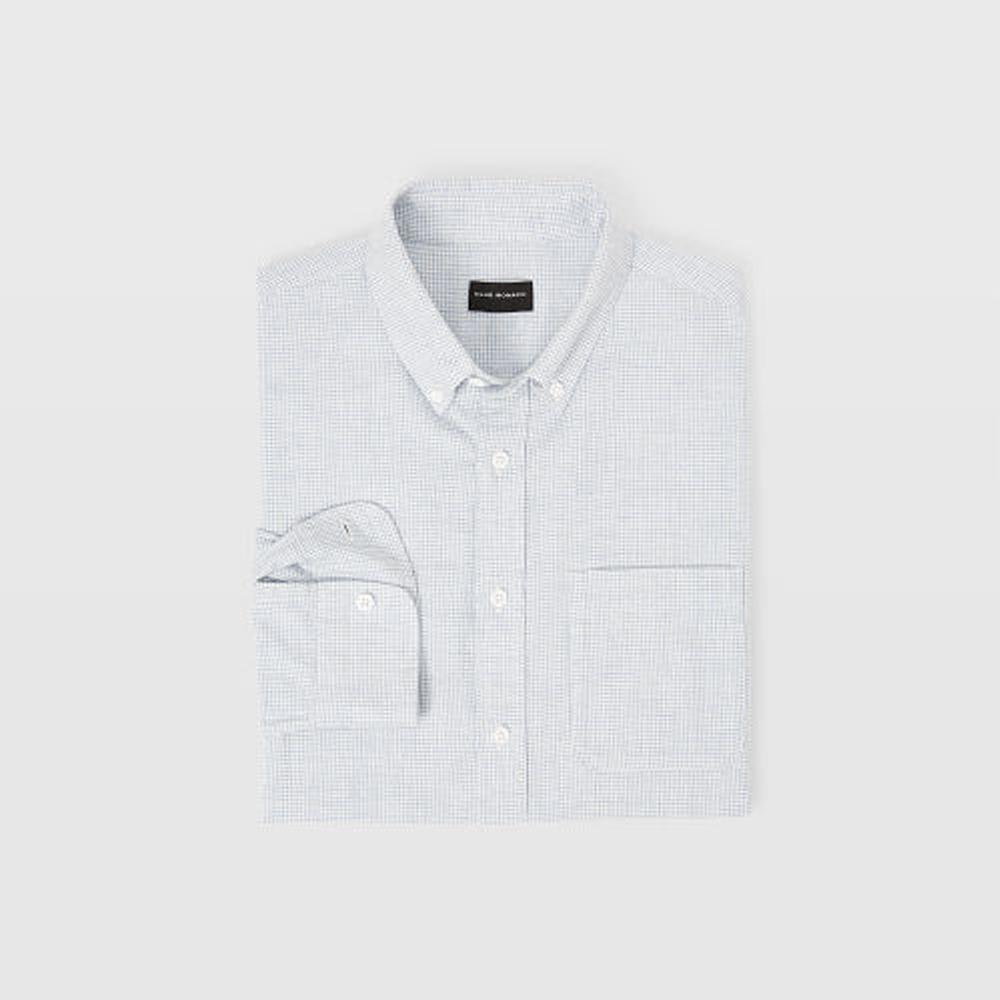 Slim Houndstooth Flannel Shirt   HK$1,090