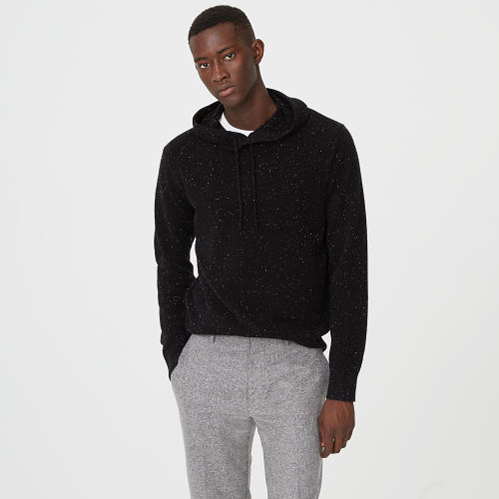Cashmere Donegal Hoodie   HK$3,490