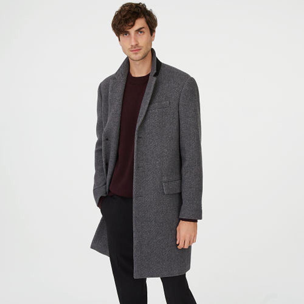 Wool Twill Topcoat   HK$4,690