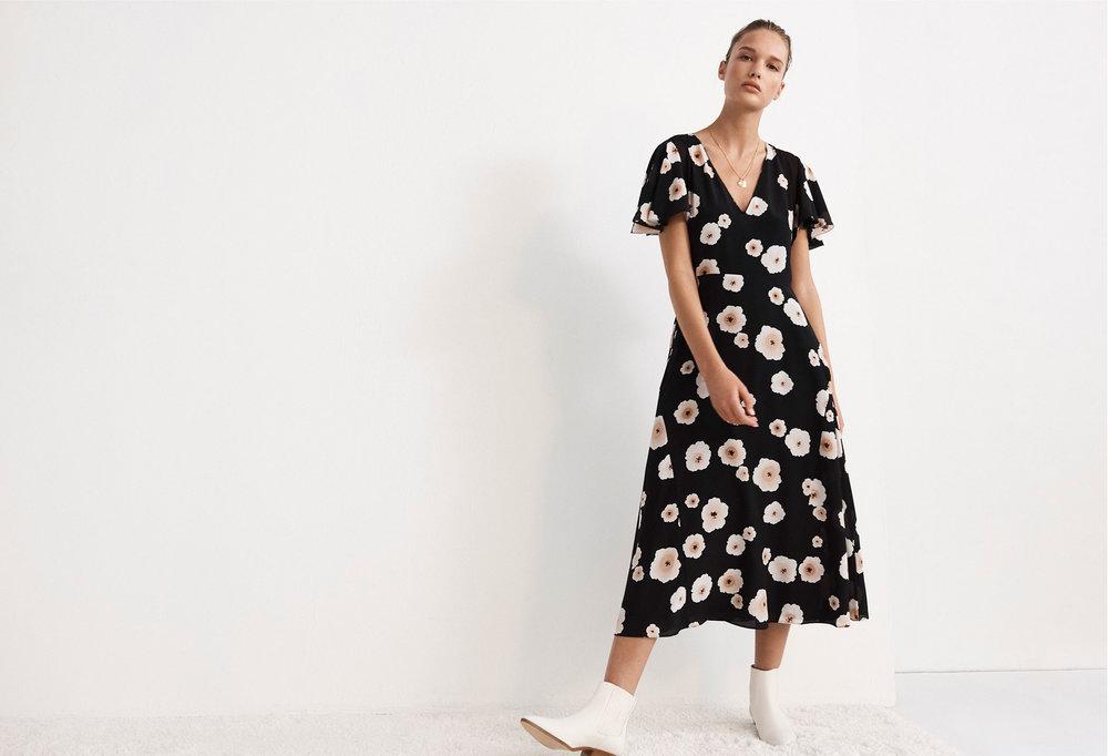 Zameeka Silk Dress