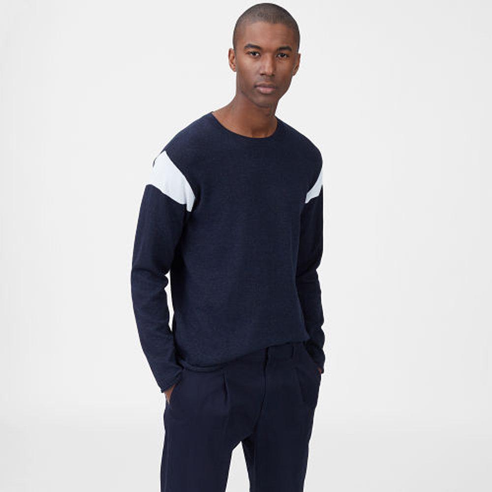 Colorblock Crewneck Sweater  HK$1,490