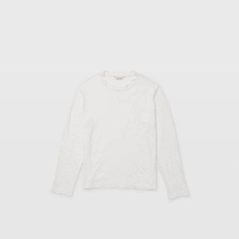 Long-Sleeve Linen Crew   HK$1,190