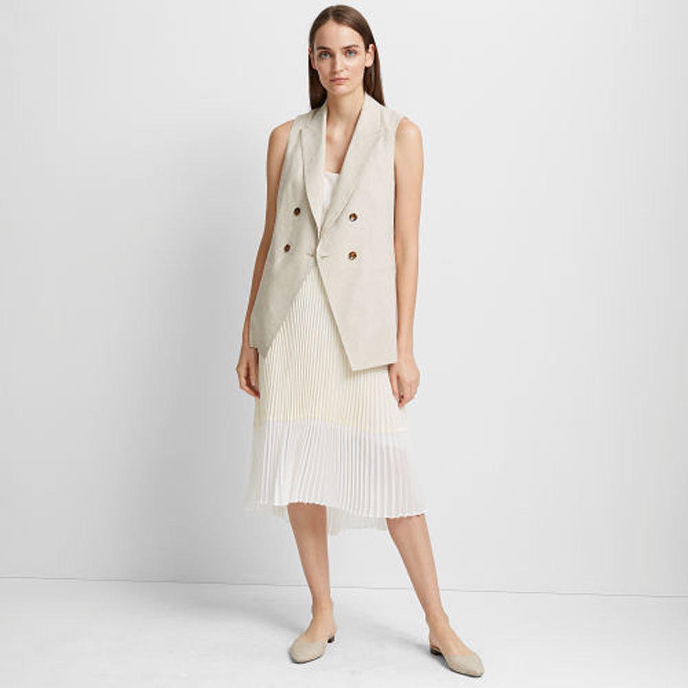 Jesstina Linen-Blend Vest   HK$2,890