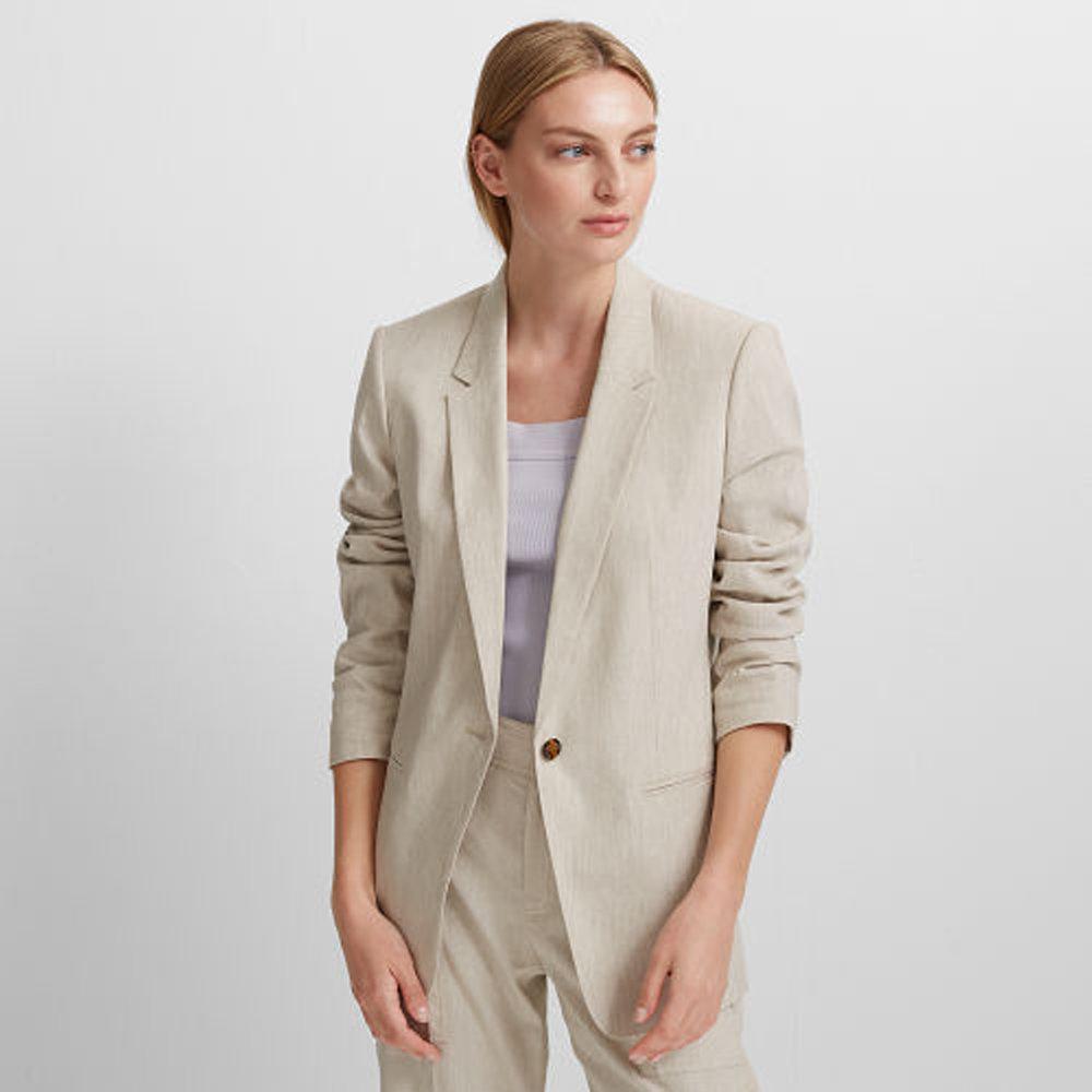 Hadarahh Linen-Blend Blazer   HK$2,890