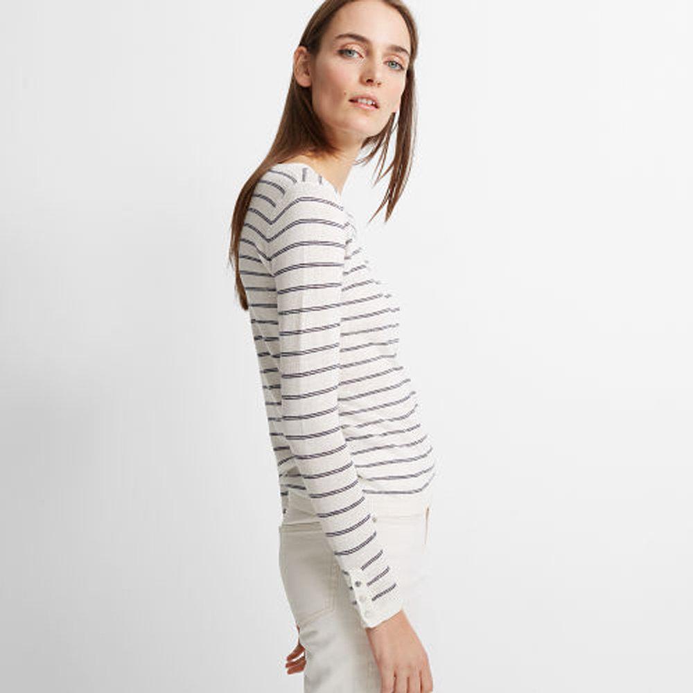 Lana Linen-Blend Sweater   HK$990