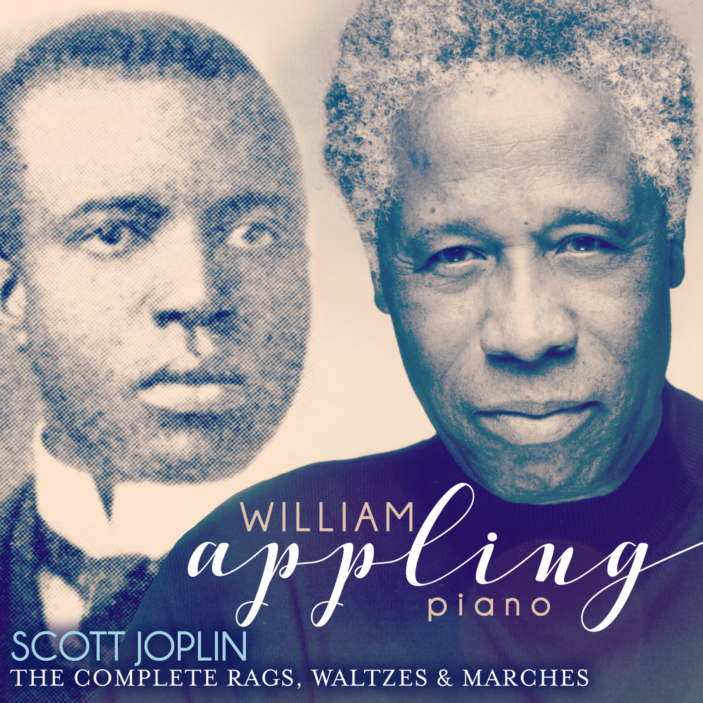 Cover: Scott Joplin: The Complete Rags, Waltzes & Marches; William Appling, piano