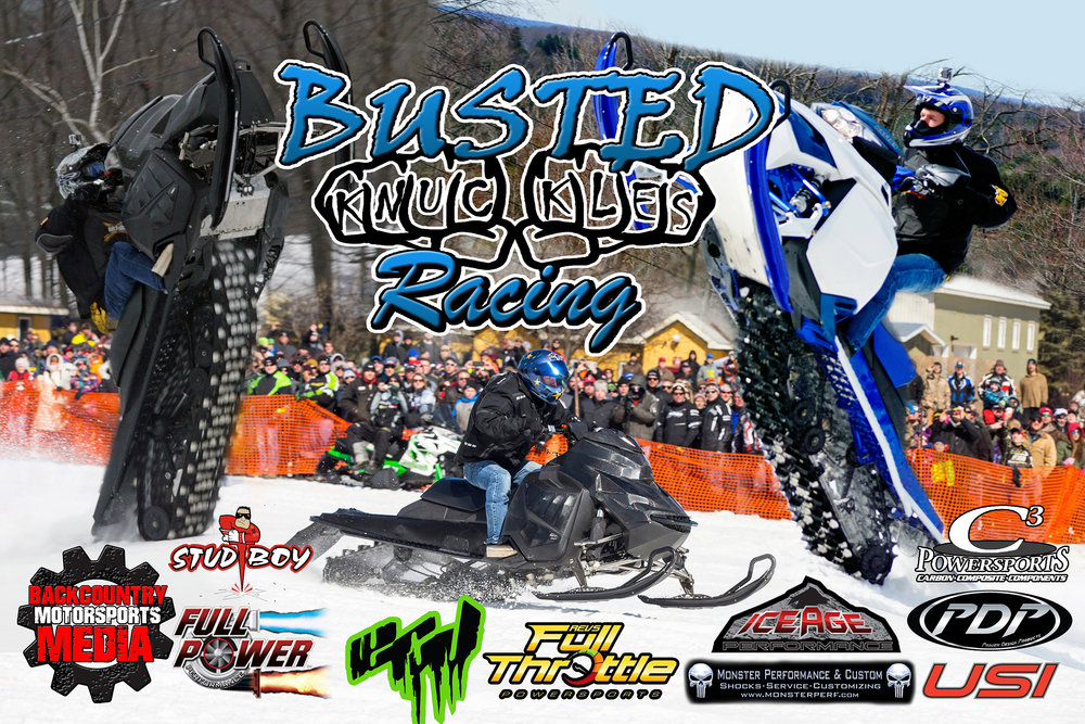 Tim Jeckell - Busted Knuckles Racing - Snowmobile Drag Racing