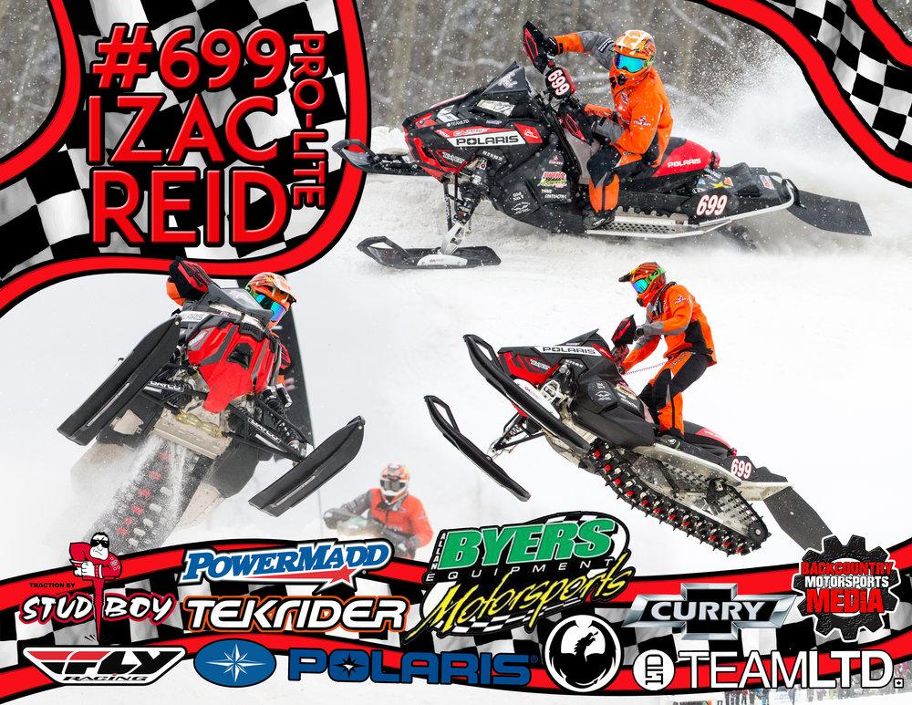 Izac Reid #699 Pro-Lite CSRA Snowcross