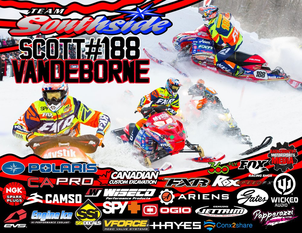 Scott Vandeborne #188 Pro-Lite CSRA and ECS Snowcross