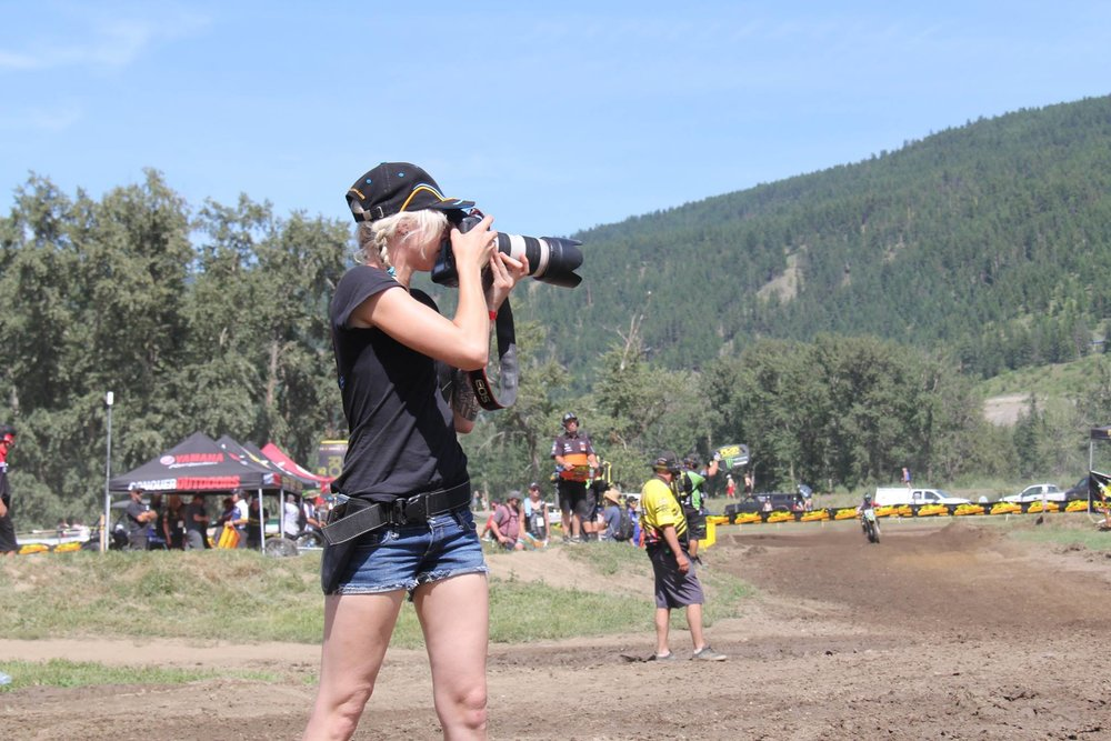 Shelby at CMRC Round 1 Kamloops, BC 2016 (Photo by Brent Boyenko)