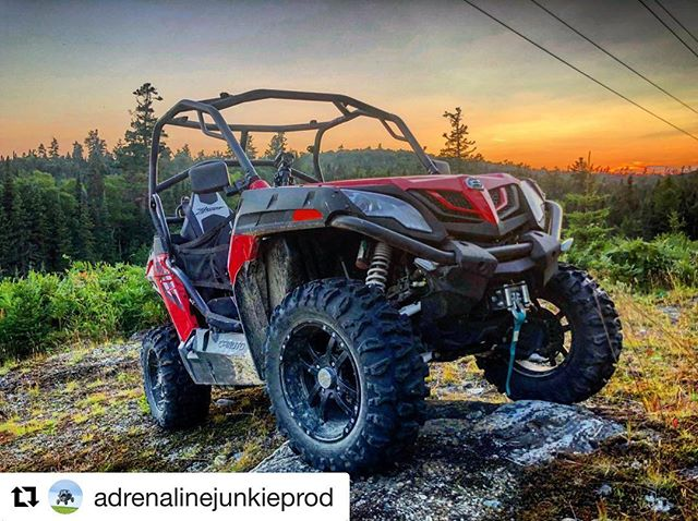 #Repost @adrenalinejunkieprod ・・・ Great shot by #TeamAJP member and sponsor @backcountry_motorsports_media from our recent ride in Northern Ontario at @halfway.haven Just one of the many stunning sights we witnessed on our trip. Northern Ontario has some stunningly beautiful natural scenery. If it's not already on your bucket list make sure you add it somewhere near the top. #cfmoto ---------------------#sxslife #utvlife #offroadlife #atvlyfe #cfmotoclub #cfmoto500 #cfmotozforce #zforce #zforce500 #adrenalinejunkieprod #backcountrymotorsportsmedia #northernontario #wawaontario #ontariocanada #csttires