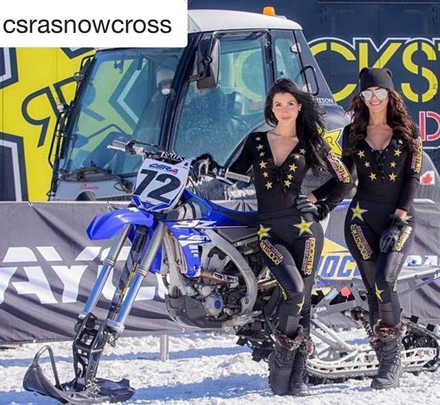 One of the best parts about being the CSRA Series Photographer is definitely getting to photograph the @rockstarenergycanada models at every event! #rockstar #shesabeauty #rockstarenergy #rockstarmodels #model #snowbike  #Repost @csrasnowcross with ・・・ Are you going to the Toronto International Snowmobile ATV and Powersports Show? Come say hi! ・・・ Don't forget to drop by the CSRA/ Rockstar Energy booth at the Toronto International Snowmobile, ATV & Powersports Show and say hello to Ken and the Rockstar models, they will be at their booth in Hall 2 all weekend long. M  #rockstar #csra #dayco #royaldistributing #osmmag #mikejacksongm #onsnowmagazine #mbrp #sunoco #fxr #snowbike #snowmobile #race #sled #winter #snowcross #torontosnowmobileshow #rockstarenergy #rockstarenergymodels #rockstarmodels #motorsports #snowbike #snowbikecross #motogirl #sno #snocross
