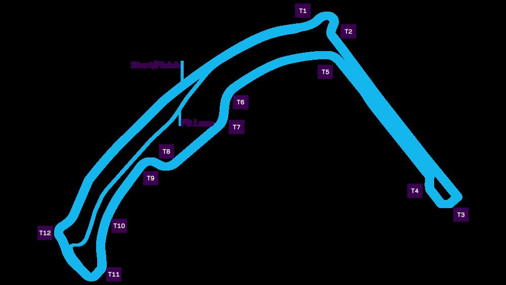 Monaco E-Prix Circuit