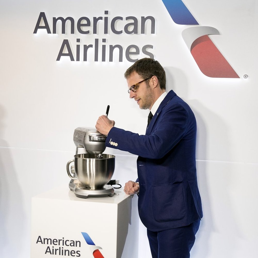 Exclusive culinary partnership between American Airlines and the James Beard Foundation Awards