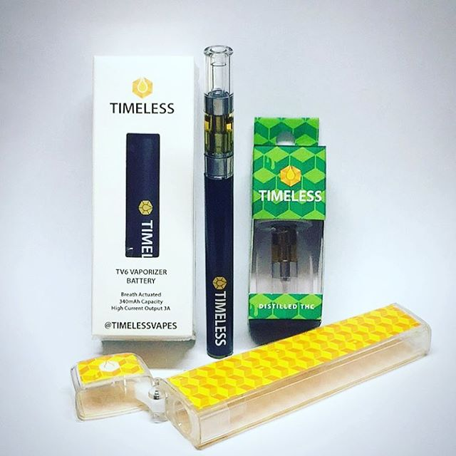 Drop by the shop this week and check out @timelessvapes amazing variety of distillate vape cartridges! Super potent. Super flavorful. You will love them! #westmontcollective #timelessvapes #cloudlife #oil #concetrates #distillate #thc #cannabis #weedmaps #hightimesmagazine #topshelflife #vape #710 #timeless #ladispensaries #westmontofficial #westmont