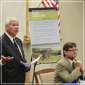 Chairman Bob Graham & Vice Chairman Commissioner Constantine