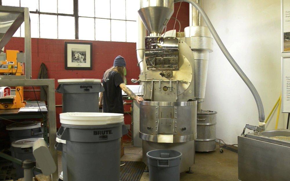 Loring Coffee Roaster at Nossa Familia