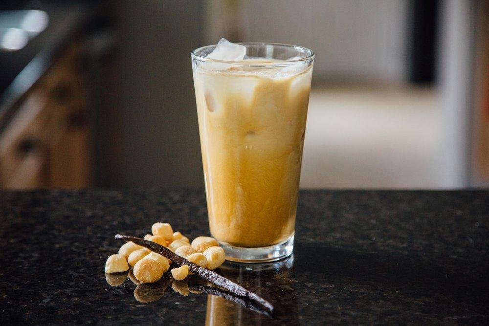 Coconut & Macadamia Iced Latte