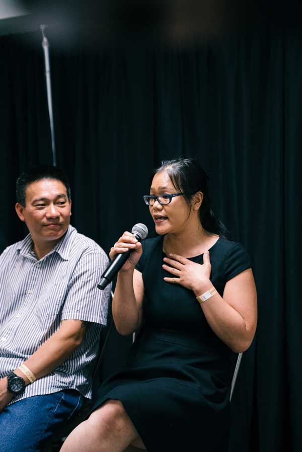 "Lien Lin: ""When I think of authenticity, I also think of the word traditional.""  Janice Chung / Happy Family Night Market"