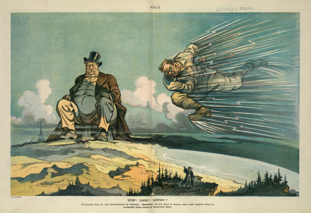 Puck cartoon, March 27, 1912. Courtesy of Library of Congress Prints and Photographs Division.