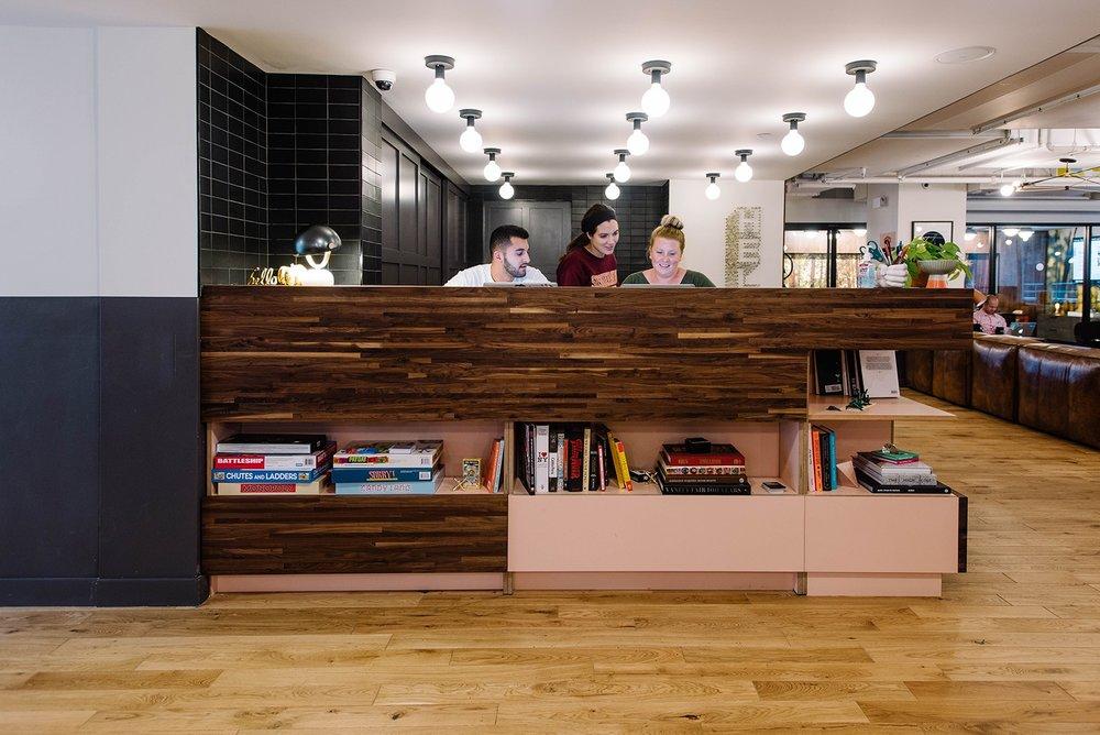 WeWork Office Wood Floors