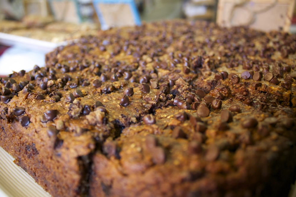 Our famous gluten-free banana bread
