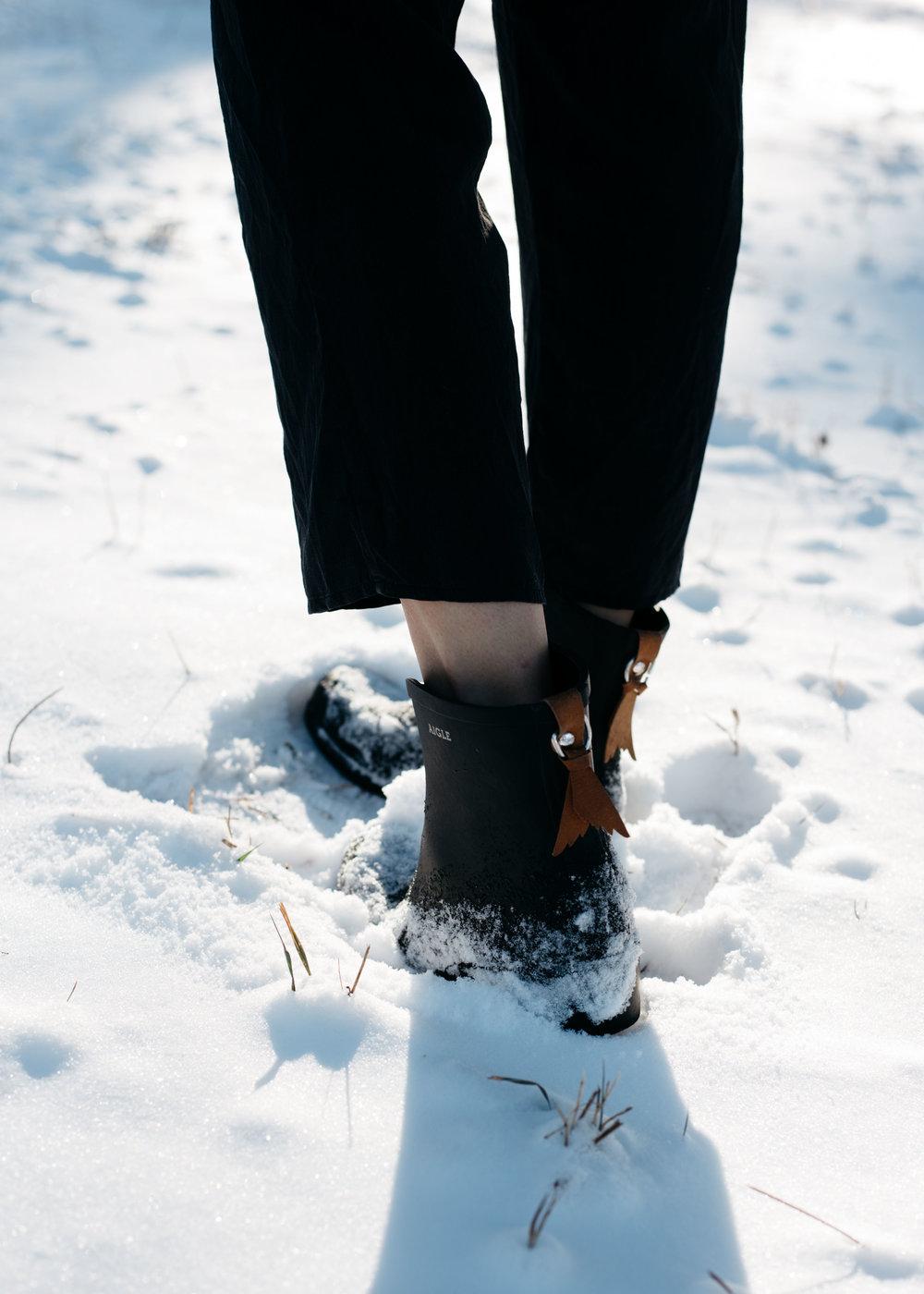 Aigle Insulated Rain Boots