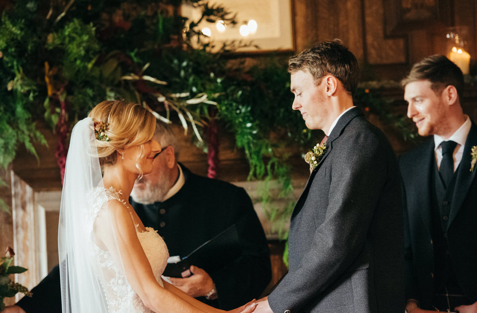 Ceremony at Rowallan Castle
