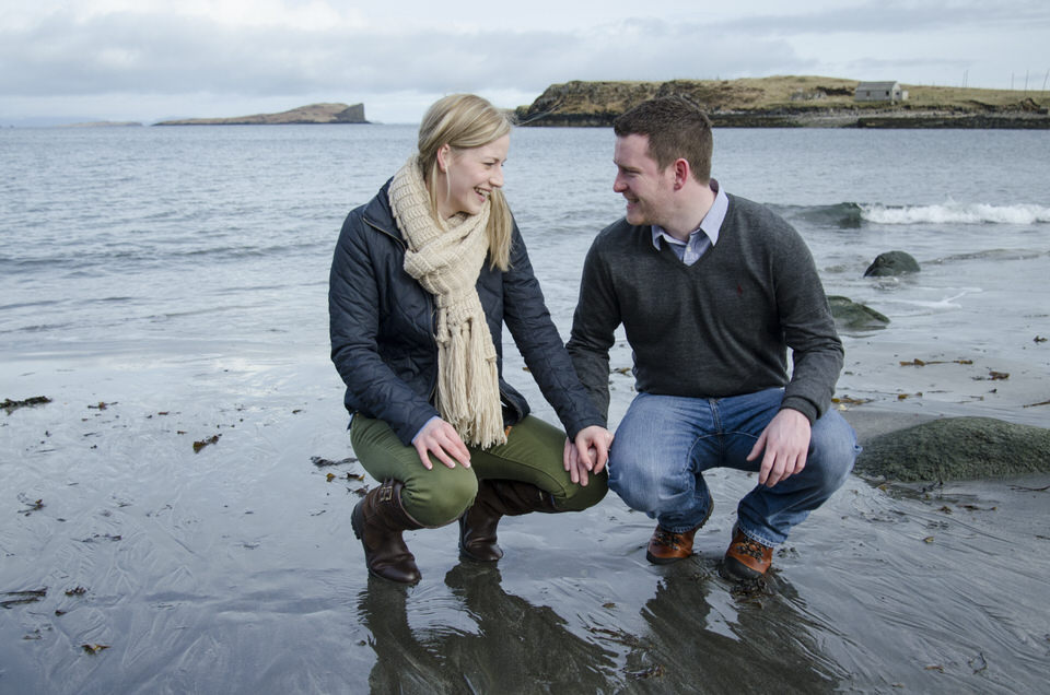 Isle of Skye engagement shoot