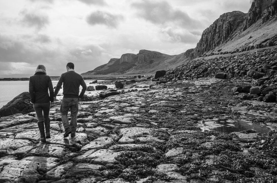 Engagement shoot Isle of Skye