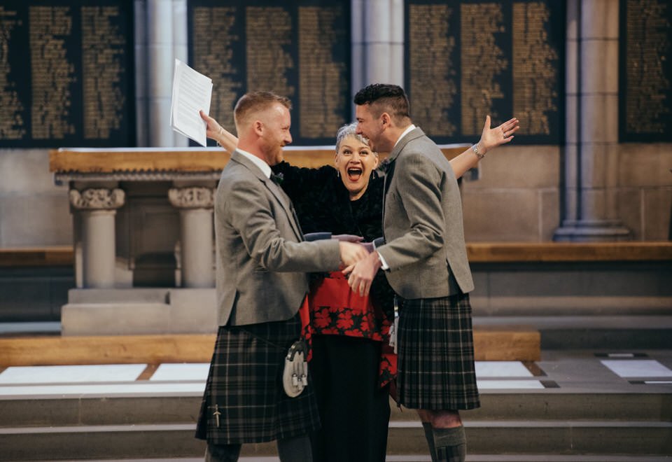 Gay Wedding Ceremony Glasgow University