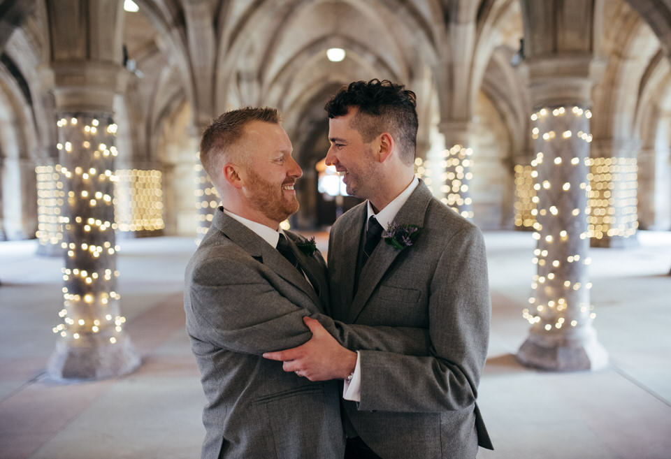 Homosexual wedding Glasgow