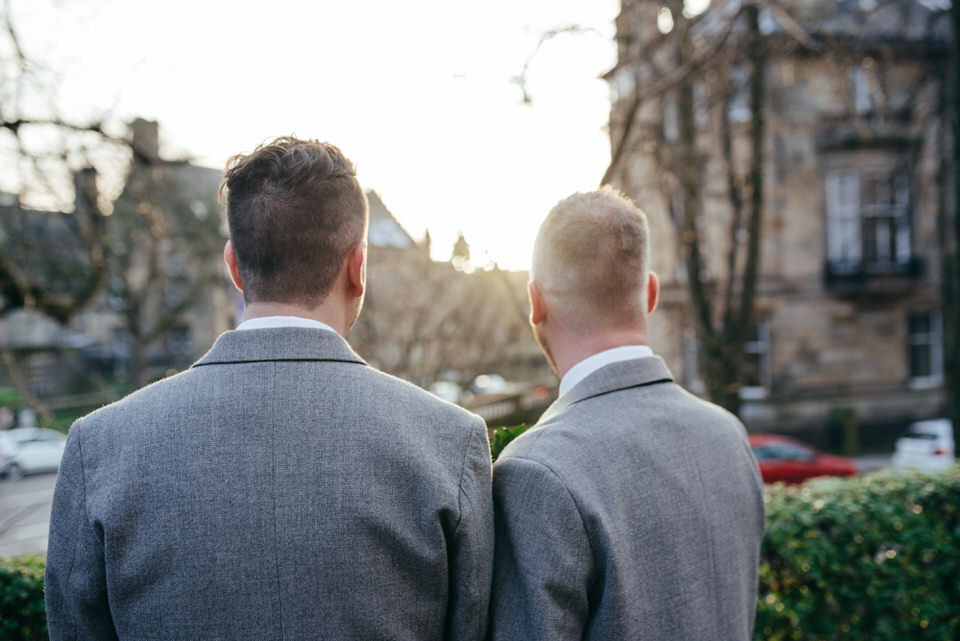 Glasgow West End Gay Wedding