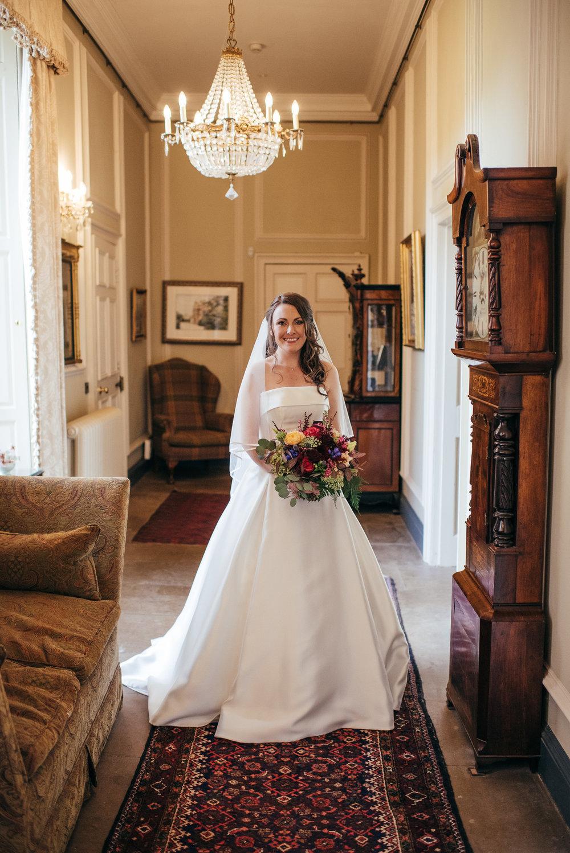 Bride Portrait Broxmouth Park