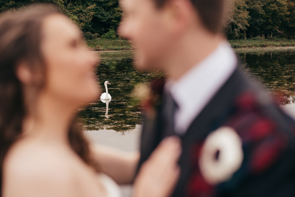 Swan lake wedding