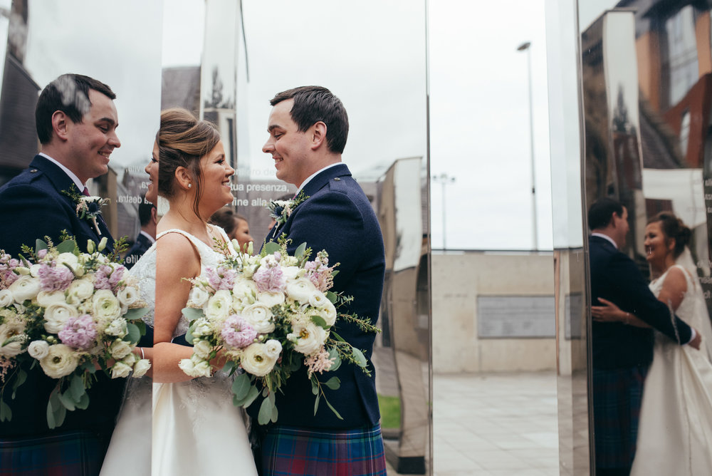 Glasgow City Centre Wedding