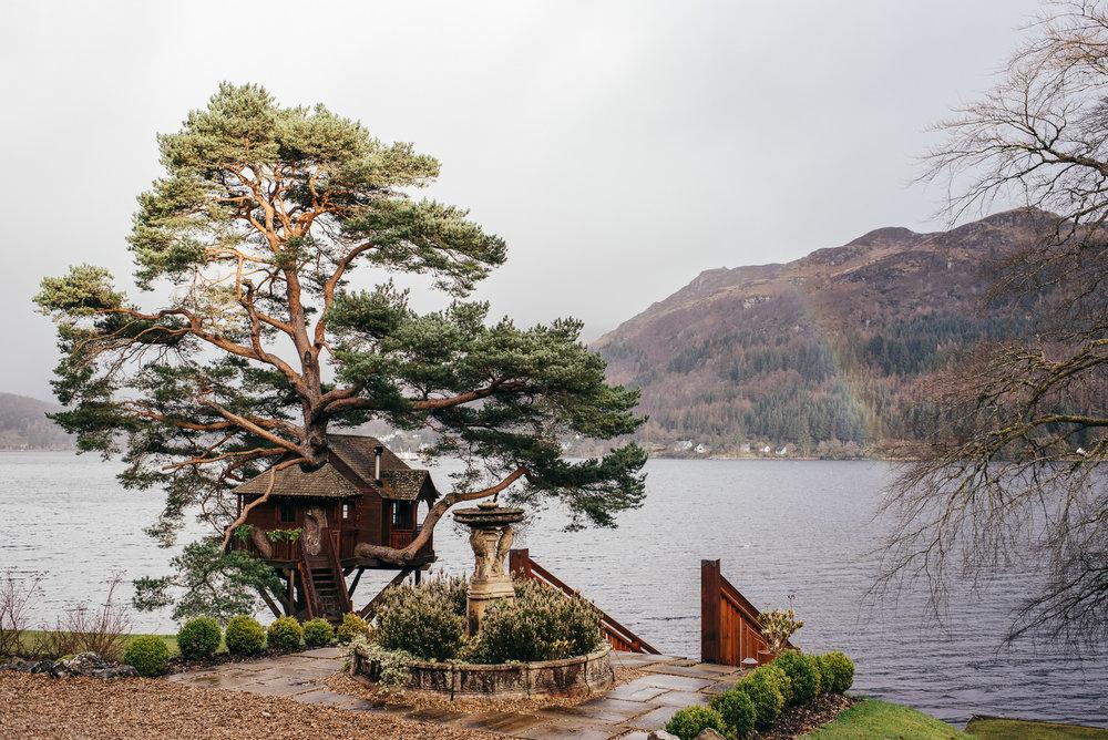 Lodge on Loch Goil