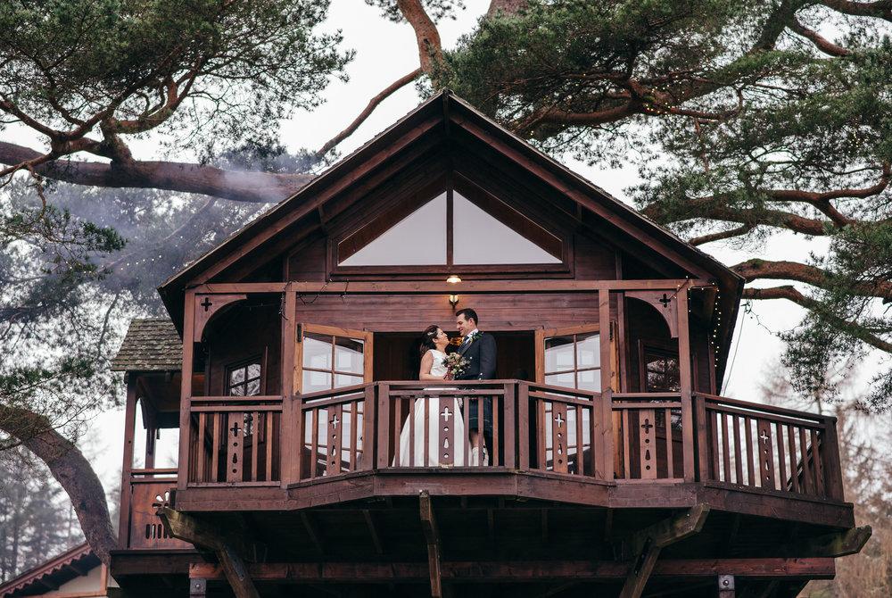 Treehouse Lodge on Loch Goil