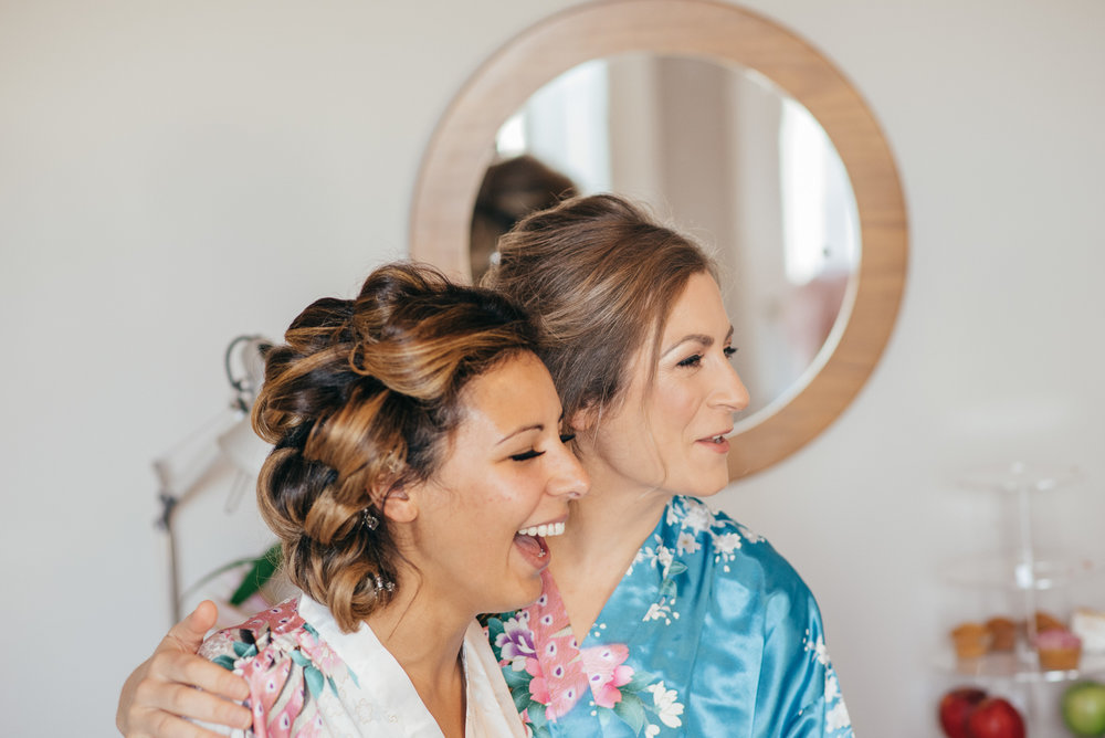 Bridal morning dressing gowns