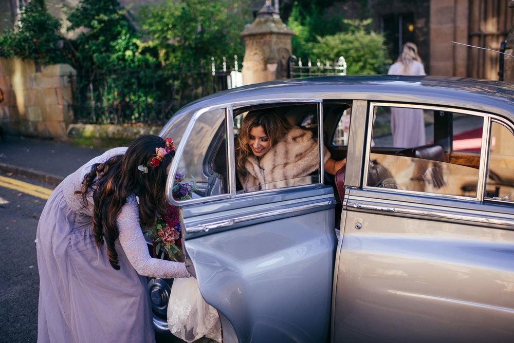 Jewish Bride Arrival