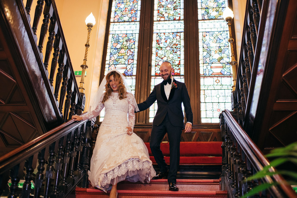 Synagogue Wedding Scotland
